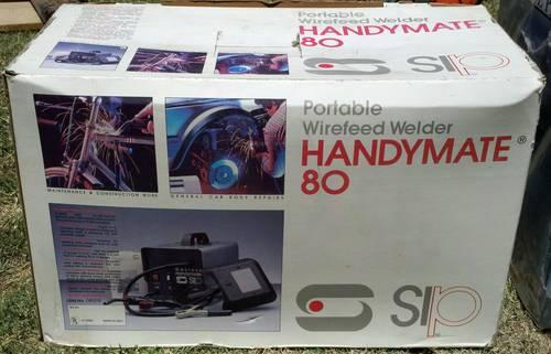Sip handymate 80 portable wirefeed welder gasless for Sip kit