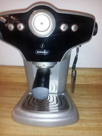 Sirena Espresso Machine, Stainless and Black - $200