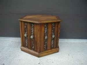 Six Sided End Table With Storage Lafayette For Sale In - Six sided table