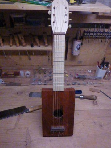 six string acoustic cigar box guitar for sale in evansville wisconsin classified. Black Bedroom Furniture Sets. Home Design Ideas