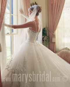 Size 2 3 mary 39 s bridal gown wedding dress newberry for Wedding dresses in columbia sc