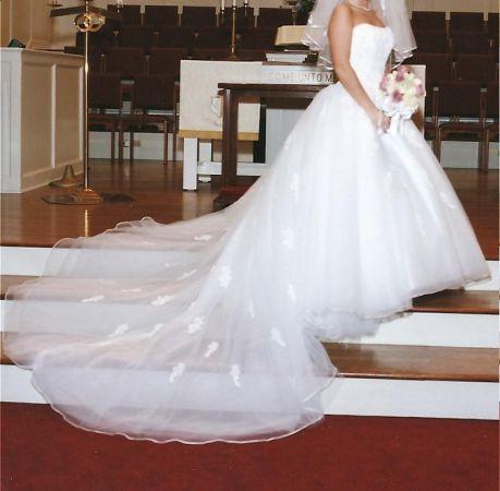Size 6 David S Bridal Wedding Dress South Houston For