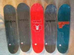 Skateboard Decks by Hook-Ups - $50 (Crofton, Md)
