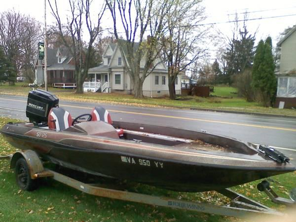 Skeeter SD 125 Mercury Bass Boat - for Sale in Chaumont ...
