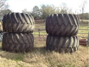 Skidder tires an wheels - $14000 (Monticello)