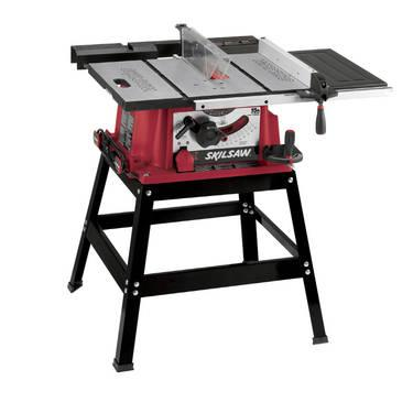 skil 3400 12 10 in portable table saw with stand in