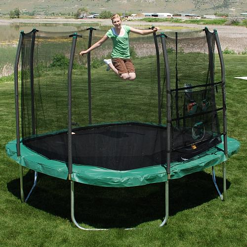 Skywalker Trampolines 11 Foot Square Trampoline And