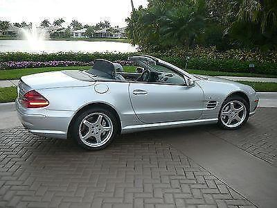 SL-55 AMG Mercedes with only 15,200 verifyable miles
