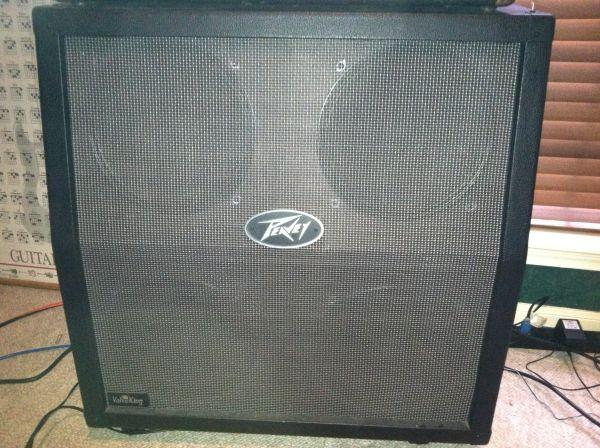 slanted speaker cabinet cab peavey valveking 4x12 casters marshall pearland for sale in. Black Bedroom Furniture Sets. Home Design Ideas