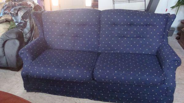 SLEEPER SOFA - $200 (OSHKOSH)