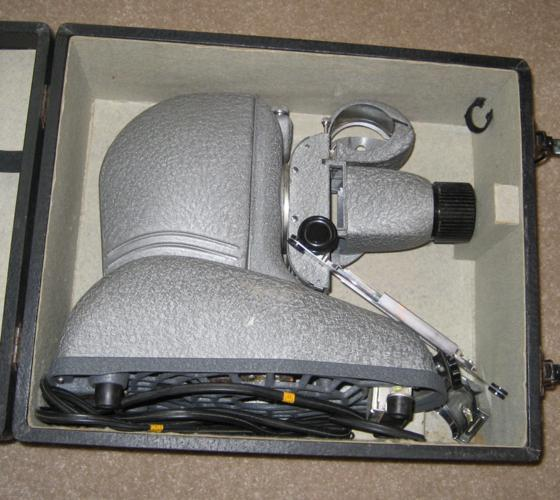 Slide Projector with Case & Attachments