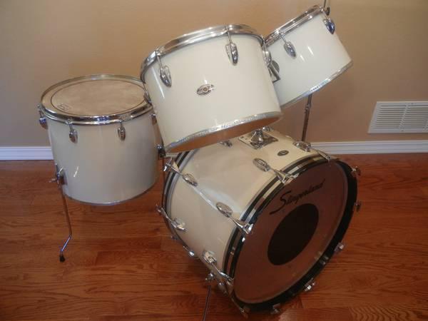 slingerland vintage drum set for sale in baxter minnesota classified. Black Bedroom Furniture Sets. Home Design Ideas