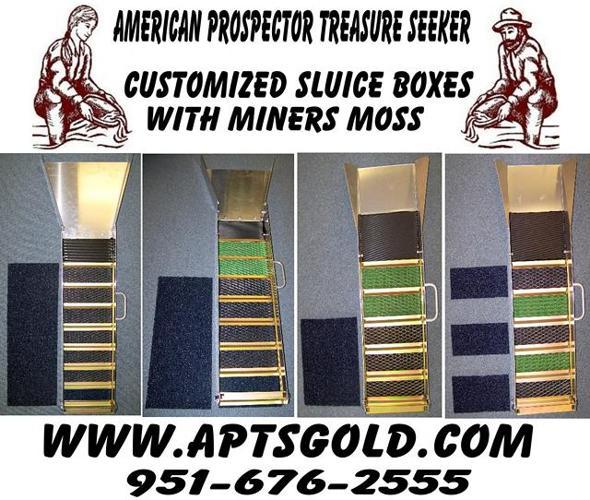 Sluice Box Drywasher Gold Mining Equipment Gold