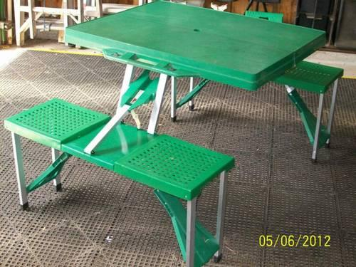Small folding picnic table with seats travel size for sale in small folding picnic table with seats travel size watchthetrailerfo