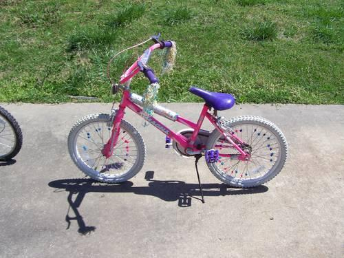 Small girls bike for sale.