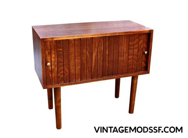 Small Mid Century Cabinet For Sale In South San Francisco