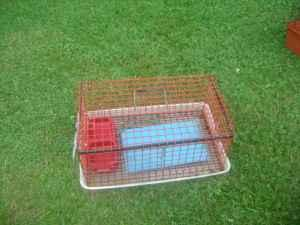 small rabbit cage - $12 (Mt Holly Springs)