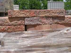 Small retaining or free standing wall blocks - $75