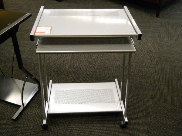 Small Silver puter Desk Tulsa for Sale in Tulsa