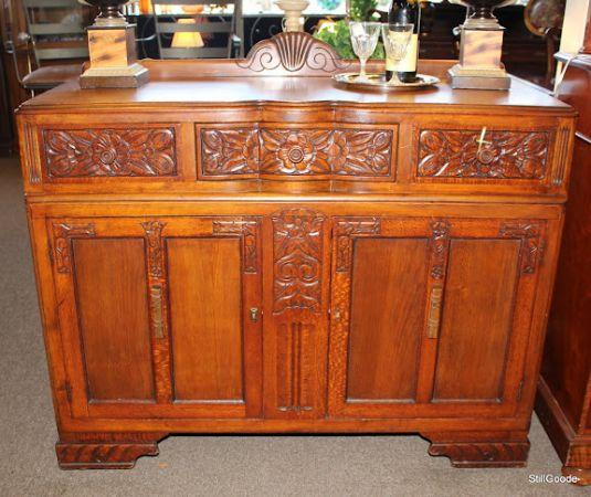 Small Size Art Deco Sideboard Buffet Spring North