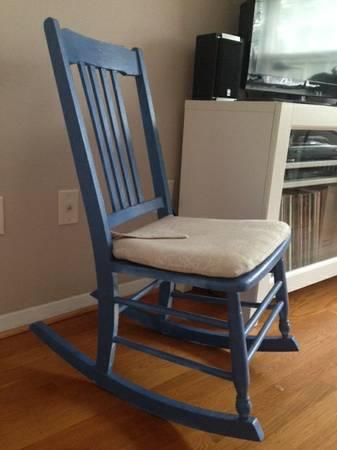 Magnificent Small Wood Rocking Chair For Sale In Charlottesville Gmtry Best Dining Table And Chair Ideas Images Gmtryco