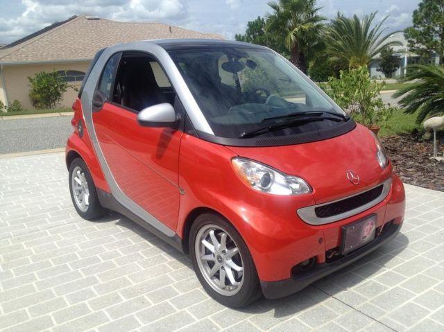 Smart Car 2008 Tow car