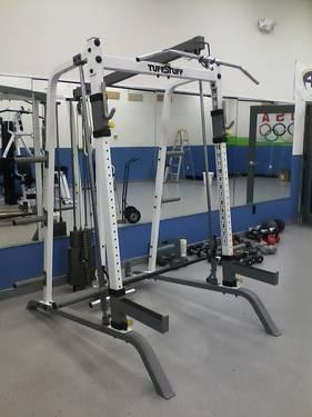 Smith Machine With Lat Pull Down Amp 200 Lb Weight Stack By