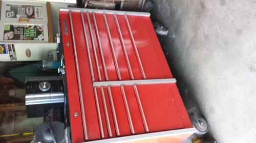 Snap-On Tool box complete with tools