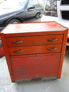 Snap-On Vintage Tool Chest - 2 drawer, Snap on tool box