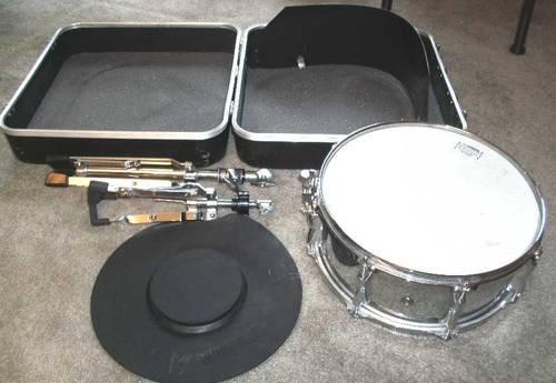 snare drum excellent condition yamaha ksd 225 stand hard case for sale in dayton ohio. Black Bedroom Furniture Sets. Home Design Ideas