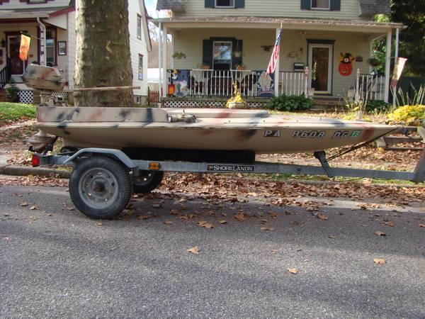 sneak box duck boat 12 39 boat motor trailer for sale