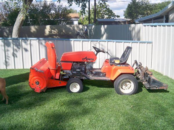Albuquerque Drive Shaft >> * Snow Blower Ariens GT20 Garden Tractor Tractor - (Farmington, New Mexico) for Sale in ...