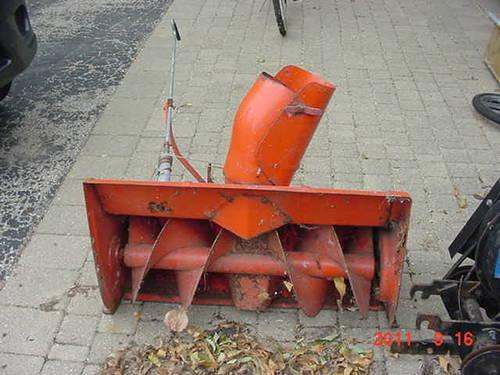 Snow blower for Simplicity Broadmoor 700 series