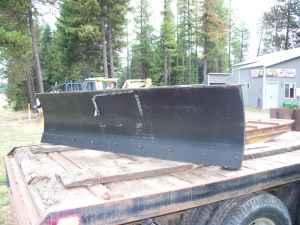 Snow plow - $1650 (Sagle)