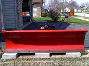snow plow - $900 (sycamore)