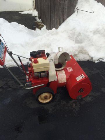 Snowblower craftsman