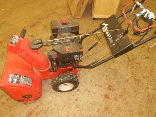 Snowblowers with Electric Start