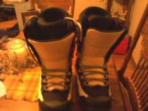 snowboard boots (Rockland, WI)