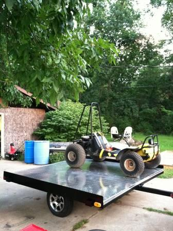 Snowmobile/Atv Trailer - $1