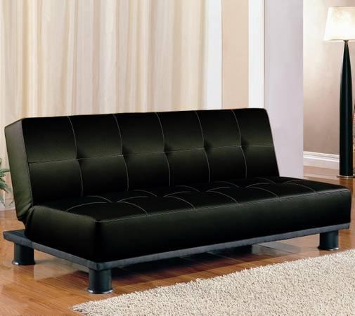 Contemporary Futon Sofa Bed: SOFA BEDS CONTEMPORARY ARMLESS CONVERTIBLE SOFA BED FUTON
