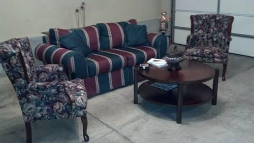 Sofa Chairs Tables Room full of Furniture for Sale in