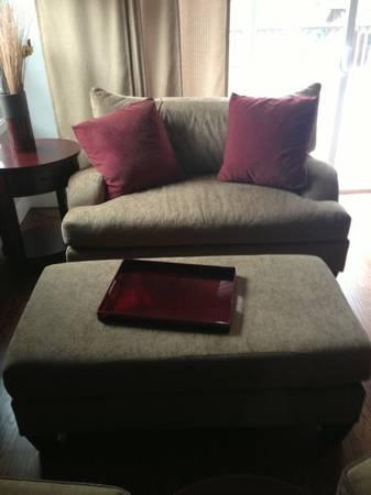 Sofa, Ottoman, 2 Chairs Purchased Originally At Giorgi
