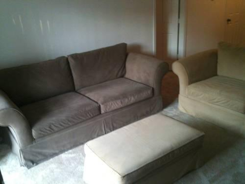 Sofa Oversized Chair Amp Ottoman For Sale In Lexington