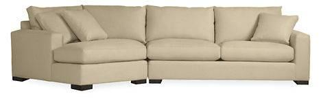 Sofa / Sectional With Left Arm Angled Chaise 140