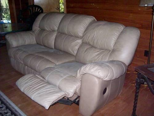 Sofa with queen sized pull out bed