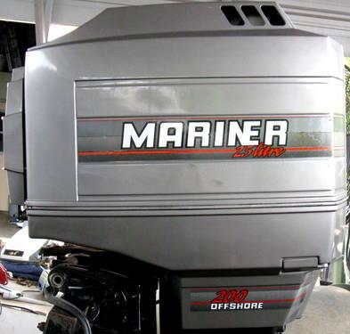 **SOLD**1993 MERCURY MARINER 2 5 Litre 200 HP Outboard**SOLD**