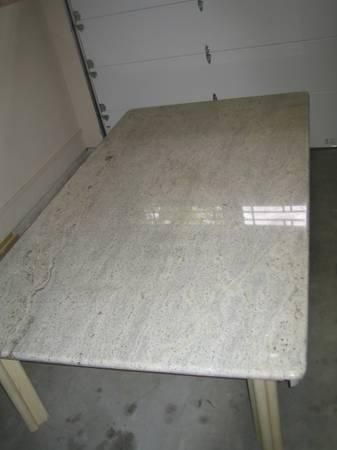 Solid Black White Granite Top Dining Table 9 X 5 For