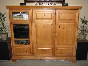 pine entertainment center western style solid knotty pine entertainment center 175 santa clara for sale