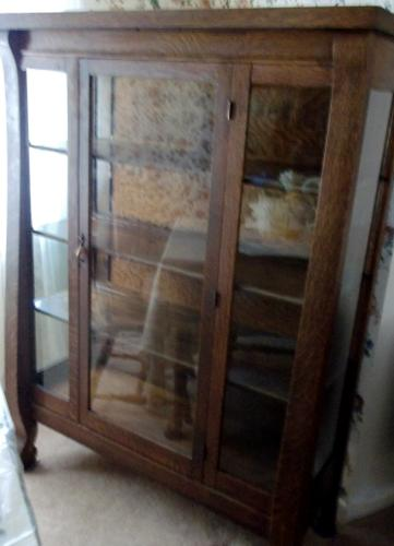Ordinaire Solid Oak China Cabinet