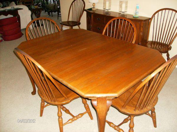 solid oak dining room suite butler for sale in
